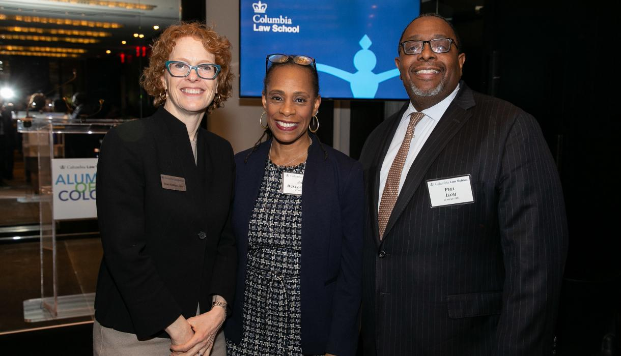 Gillian Lester with Anne Williams-Isom and Phillip Isom