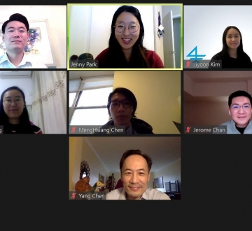2021 Asian American Bar Association of New York (AABANY) Remote Clinic Zoom Screenshot