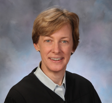Judge Debra A. Livingston in black robe