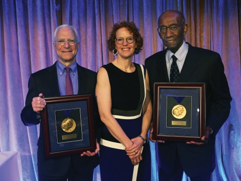 Jim Millstein, Gillian Lester, and Franklin Thomas