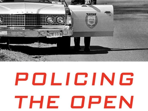 Cover of the book Policing the Open Road: How Cars Transformed American Freedom by Sarah A. Seo