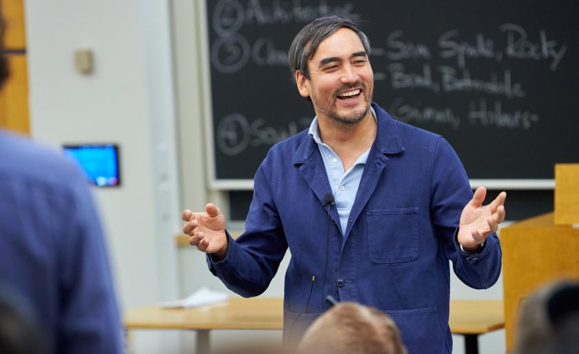Tim Wu teaching