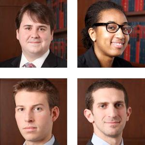 Photo of the 2012 Harlan Fiske Stone Moot Court Competition Finalists.