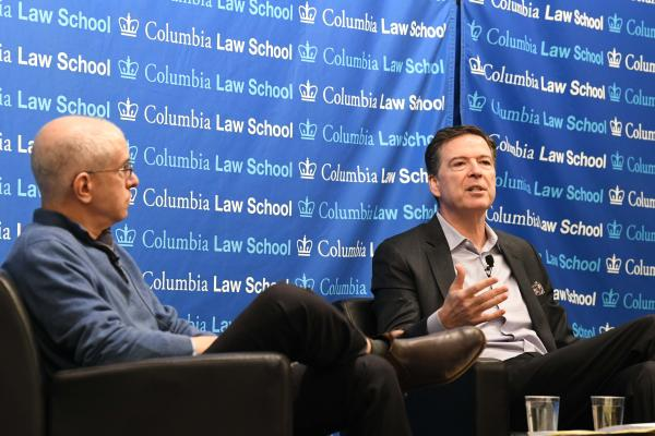 James Comey Speaks at Columbia Law School