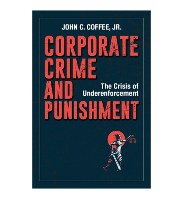 Corporate Crime and Punishment book jacket
