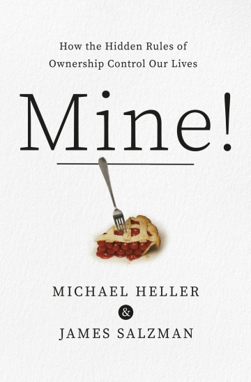 """Mine!"" book cover"